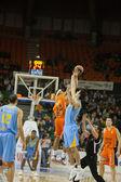Valencia Basket against Polaris World Murcia — Stockfoto
