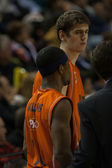 Valencia Basket against Polaris World Murcia — Stock Photo