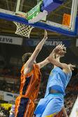 Valencia Basket against Polaris World Murcia — Stock Photo