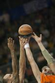 Valencia Basket against Unicaja Malaga — Stock fotografie