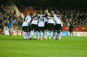 Players of Valencia — Stock Photo