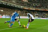Angel Di Maria of Real Madrid runs with the ball — Stock Photo