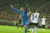 Cristiano Ronaldo of Real Madrid celebrates after scoring — Zdjęcie stockowe
