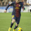 Leo Messi during Spanish League match — Stock Photo #52727399