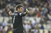 Golkeeper of Valencia CF Alves — Stock Photo