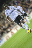 Cissokho during Spanish Cup match — Stock Photo