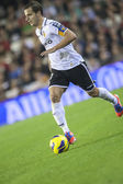 Soldado during Spanish Cup match — Stock Photo