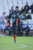 Jose Manuel Pinto during Spanish League match — Stockfoto