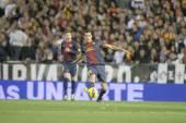 スペイン リーグの試合中にセルジオ busquets — ストック写真