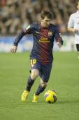 Leo Messi during Spanish League match — Stock Photo