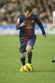 Leo messi během španělské ligy — Stock fotografie