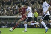 Dante during UEFA Champions League match — Stock Photo