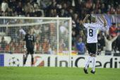 Sofiane Feghouli celebrating his goal — Stock Photo