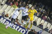 Guardado and Rodinov during UEFA Champions League match — Stock Photo