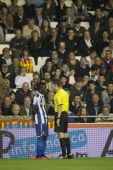 Players during Spanish Soccer League match — Stock Photo