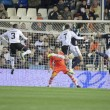 Corner kick during match between Valencia CF and Real Madrid — Stock Photo #52731191