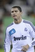 Cristiano Ronaldo during Spanish Soccer League match — Stok fotoğraf