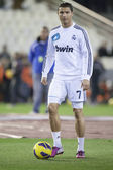 Cristiano Ronaldo during Spanish Soccer League — Zdjęcie stockowe