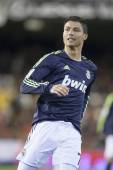 Cristiano Ronaldo during Spanish Soccer League match — Foto de Stock
