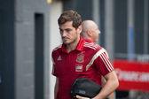 National Spain football player Iker Casillas — Stock Photo