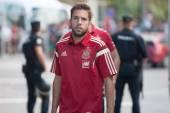 National Spain football player Jordi Alba — Stock Photo