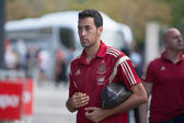 National Spain football player Sergi Busquets — Stock Photo