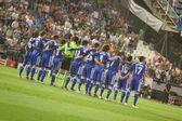 Chelsea Team on the field — Стоковое фото