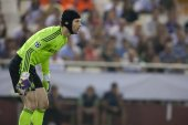 Cech in action — Стоковое фото