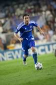 Lampard in action — Стоковое фото