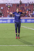 C. Bravo of Barcelona warming up — 图库照片