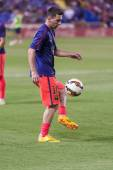 Messi in action — Photo