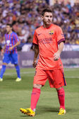 Messi de barcelone en action — Photo