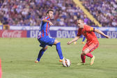 Iniesta of Barcelona in action — Photo