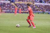 Jordi alba de barcelone en action — Photo