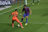 Neymar  of Barcelona in action — Stockfoto