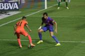 Neymar  of Barcelona in action — Photo