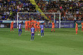 Levante UD players during free kick — Photo