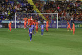 Levante UD players during free kick — 图库照片