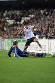 UEFA Champions League match between Valencia and Schalke 04 — Stock Photo