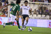 Vicente (R) and Paulo Jorge (L) in action — Stock Photo