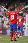 Palacios during the game — Stock Photo