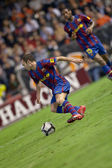 Andres Iniesta during the game — Stock Photo