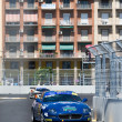 Постер, плакат: Carlo Romani IT and Marco Bassetto IT on Maserati Coupe
