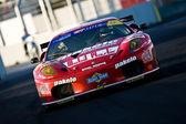 Lorenzo Case (IT) Michele Rugolo (FR) on Ferrari 430 GT2  GTA — Stock Photo