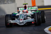 Formula 1 European Grand Prix — Stock Photo