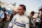 Racer in de Formule 1 Grand Prix van Europa — Stockfoto