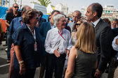 People in the Formula 1 Grand Prix of Europe — Stock Photo