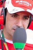 Marc Gene during European Grand Prix Formula 1 — Stock Photo