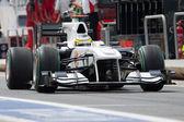 Pedro Martinez de la Rosa  during European Grand Prix Formula 1 — Stock Photo