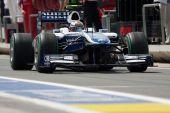 Nico Hulkenberg durante europea Gran Premio di Formula 1 — Foto Stock